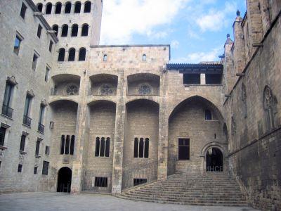 Palau Reial Major de Barcelona. Font: Carquinyol (Wikimedia Commons)