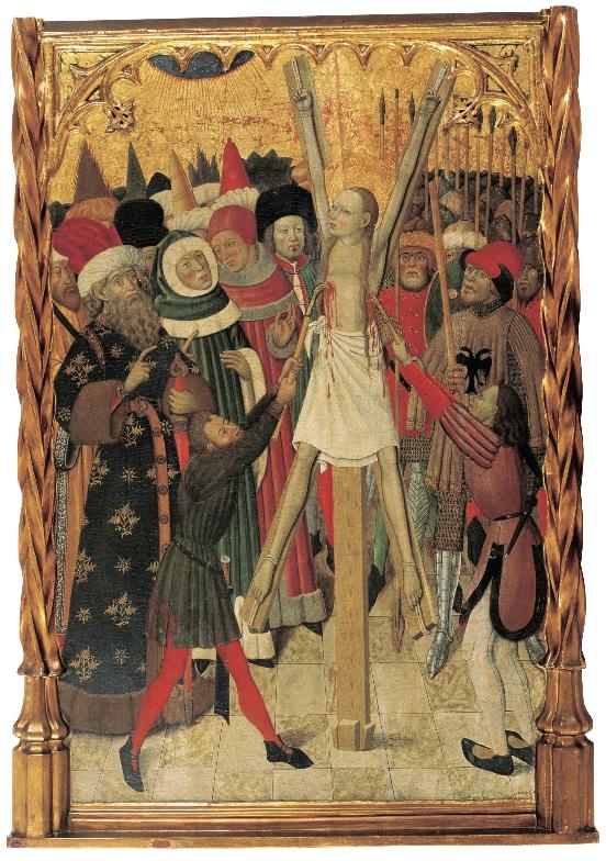 Bernat Martorell, Martiri de santa Eulàlia (MNAC)