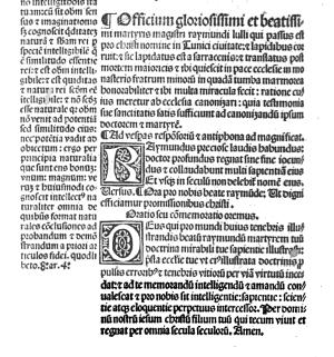 Officium Raymundi 1506