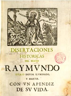 Costurer Disertaciones historicas 1700