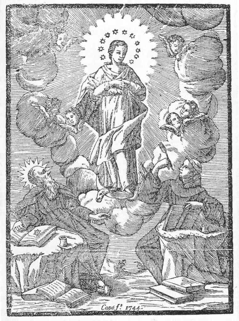 Capó 1744 gravat amb llull