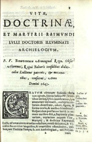 Armengual Vitae Llull