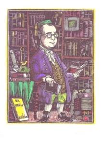 J.Pla Dalmau Ex-libris per a J.Batlle