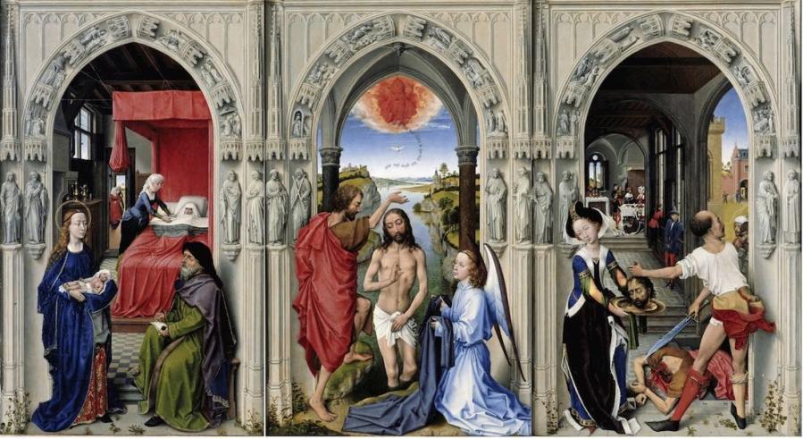Rogier van der Weyden, Altar de sant Joan