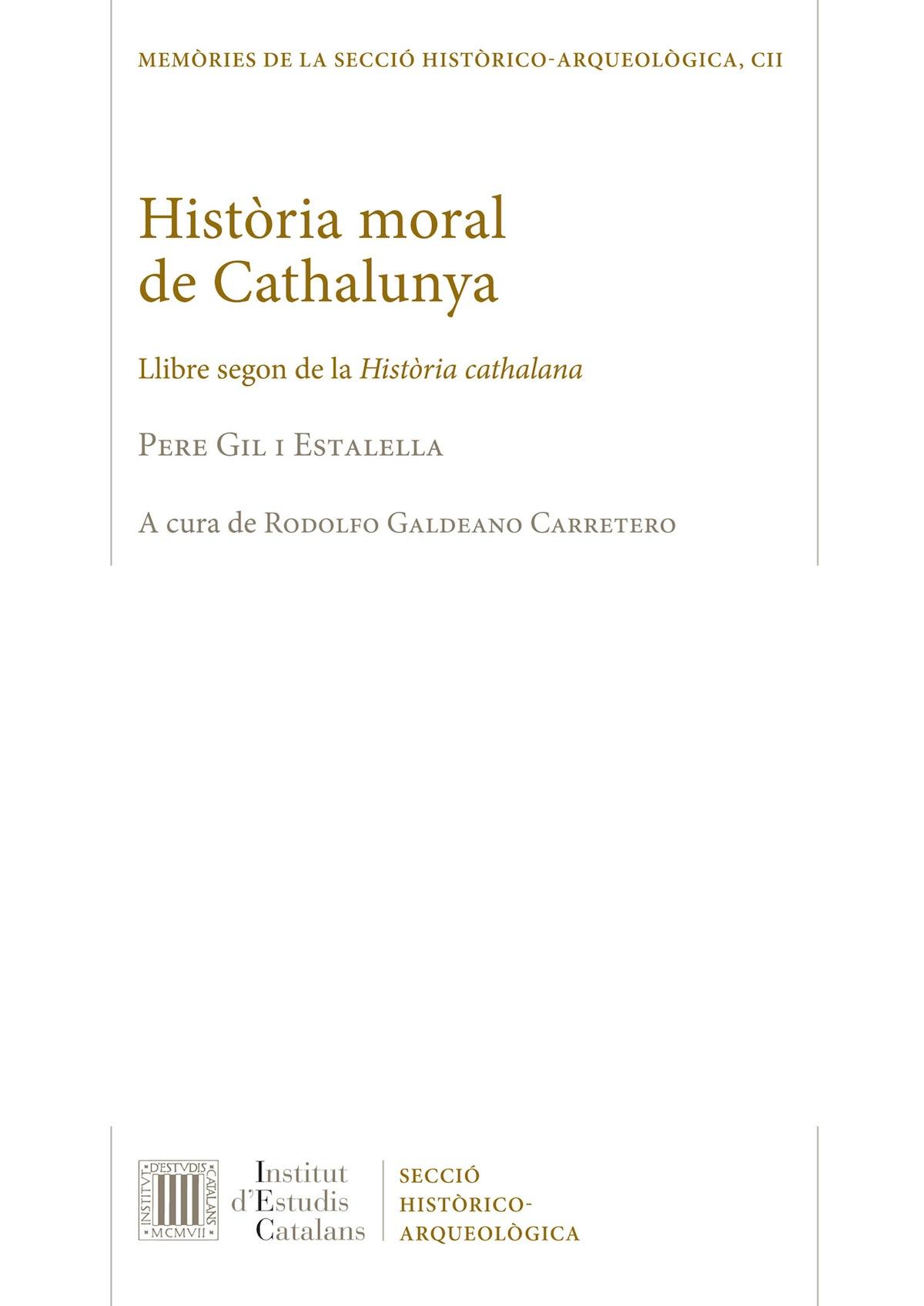 Pere Gil Història moral de Catalunya
