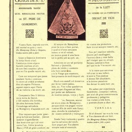 montgrony goigs 1921